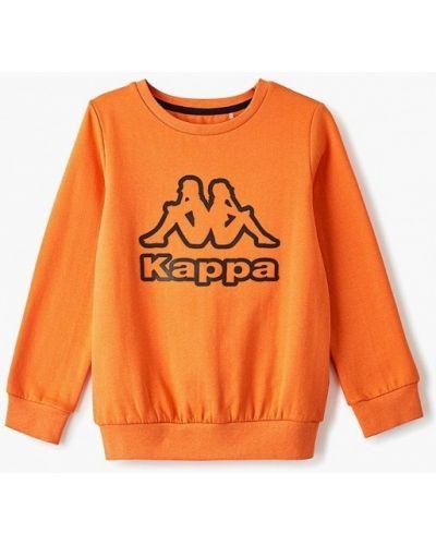 Свитшот оранжевый Kappa