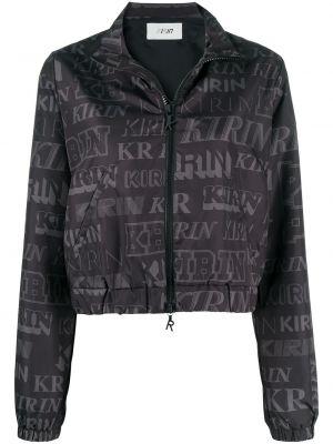Пиджак с открытой спиной - черный Kirin