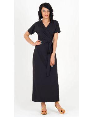 Платье с поясом с запахом платье-сарафан Ajour