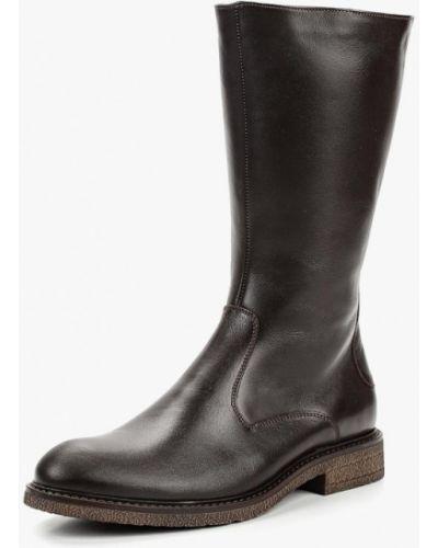 Кожаные ботинки осенние коричневый Salamander