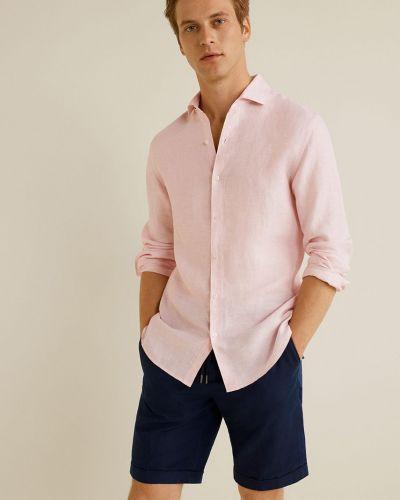 Рубашка с длинным рукавом с карманами на пуговицах Mango Man