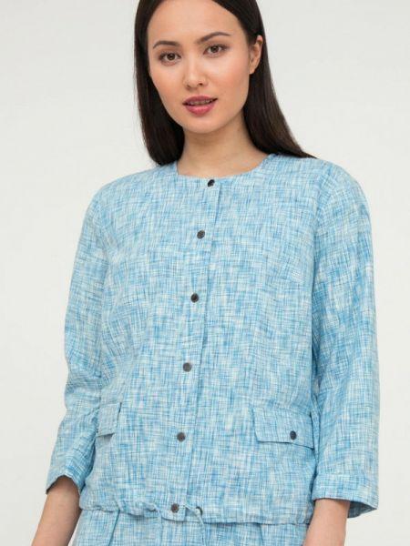 Пиджак расклешенный - голубой Finn Flare