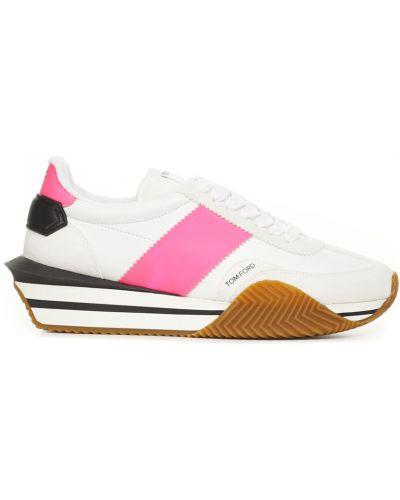 Różowe sneakersy Tom Ford
