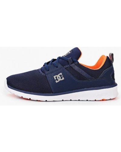 Синие текстильные пинетки Dc Shoes