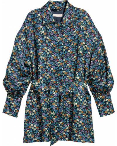 Льняной пиджак - синий H&m