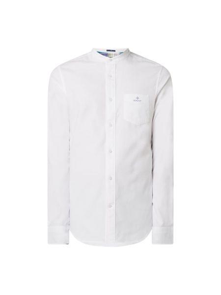 Bawełna bawełna z rękawami koszula oxford z mankietami Gant