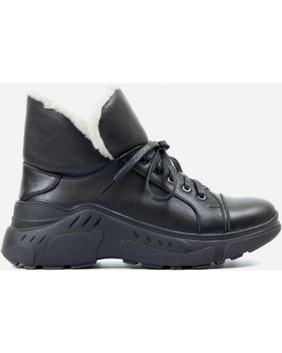 Деловые ботинки - черные Tuto Vzuto
