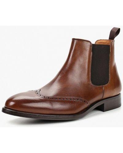 Ботинки челси кожаные осенние Umber