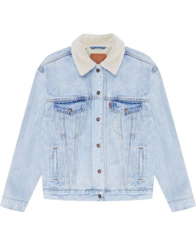 Джинсовая куртка оверсайз с карманами Levi's®