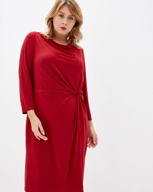 Повседневное платье бордовый красный Lauren Ralph Lauren Woman