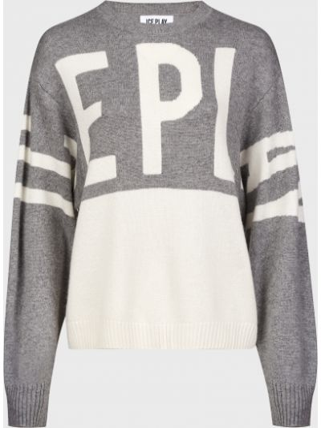 Серый кашемировый свитер Ice Play