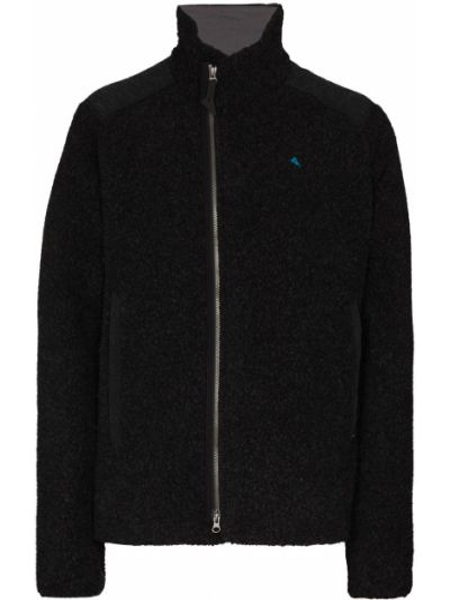 Флисовая куртка - черная Klättermusen