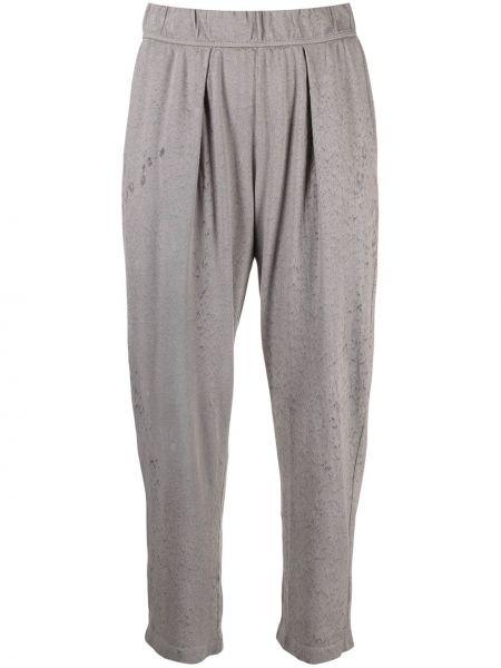 Укороченные брюки - серые Raquel Allegra