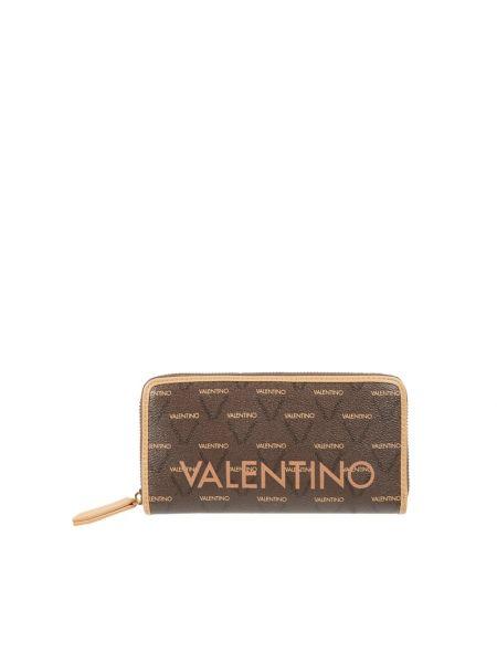 Brązowy portfel Valentino By Mario Valentino