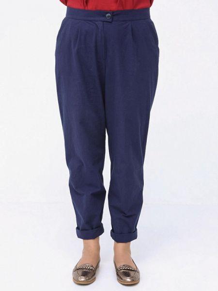 Синие брюки Luxury Plus