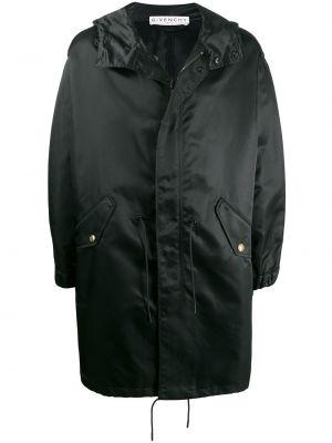Płaszcz przeciwdeszczowy - czarny Givenchy
