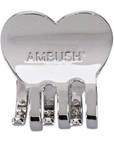 Серебряная заколка Ambush
