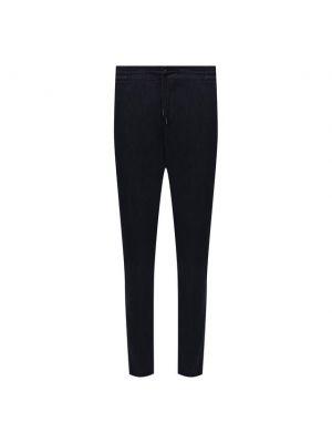 Хлопковые брюки - синие Andrea Campagna
