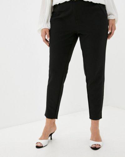 Черные зауженные брюки Zizzi
