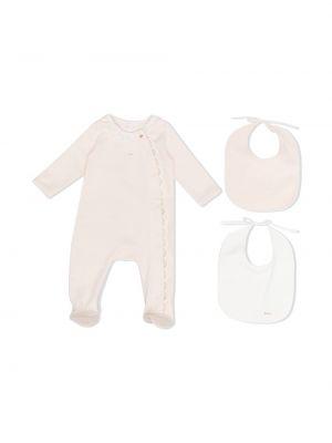 Piżama z długimi rękawami - różowa Chloé Kids