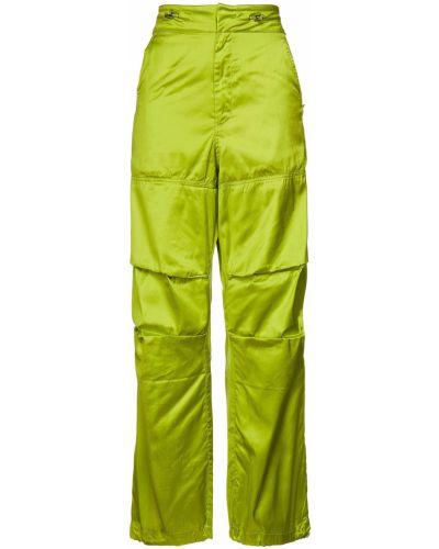 Spodnie - zielone Marques Almeida