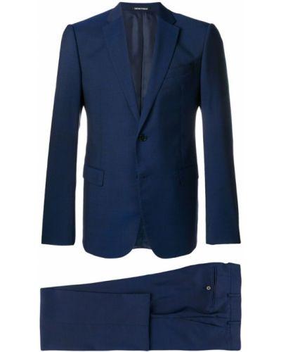 Костюм классический костюм-двойка синий Emporio Armani