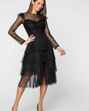 Черное вечернее платье Itelle