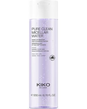Мицеллярная вода кожаный очищающий Kiko Milano