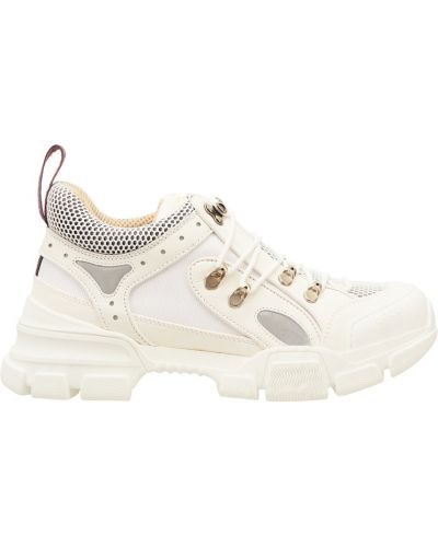 Кроссовки с перфорацией белый Gucci