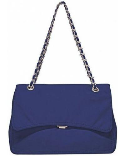 Niebieska torebka z nylonu Mia Bag