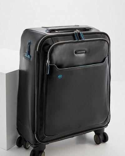 Черный чемодан Piquadro