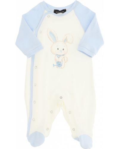 Biała piżama Monnalisa