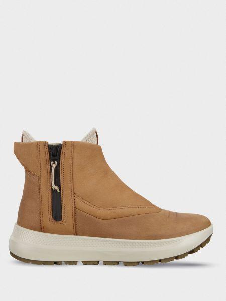Ботинки из нубука - коричневые Ecco