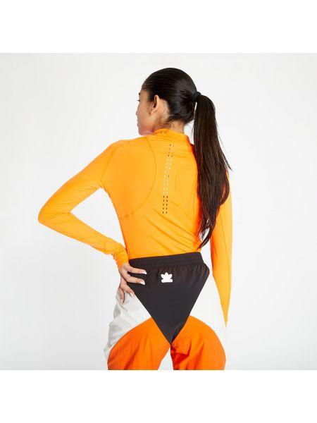 Оранжевый лонгслив Adidas Performance