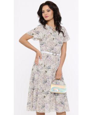 Платье с декольте на шнуровке Dstrend