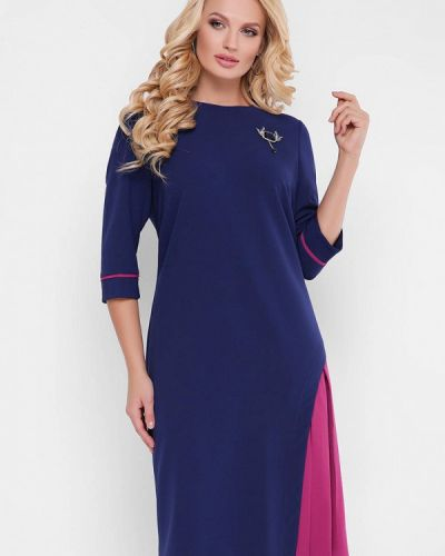 Повседневное синее платье Vlavi