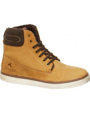 Треккинговые ботинки кожаные коричневый Wrangler