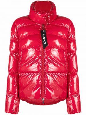 Дутая куртка - красная Pinko