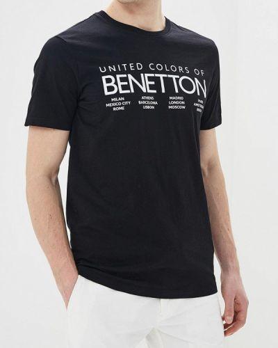 Черная футболка 2019 United Colors Of Benetton