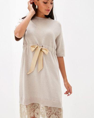Платье - бежевое Liana