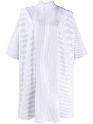 Biała koszula bawełniana w paski Givenchy