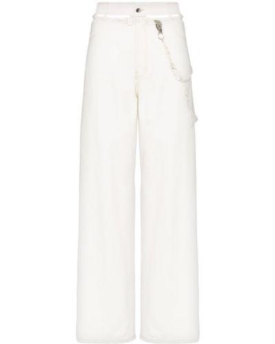 Широкие джинсы на пуговицах Hyein Seo