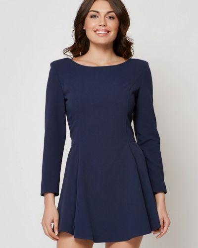 Повседневное платье осеннее синее Alex Lu