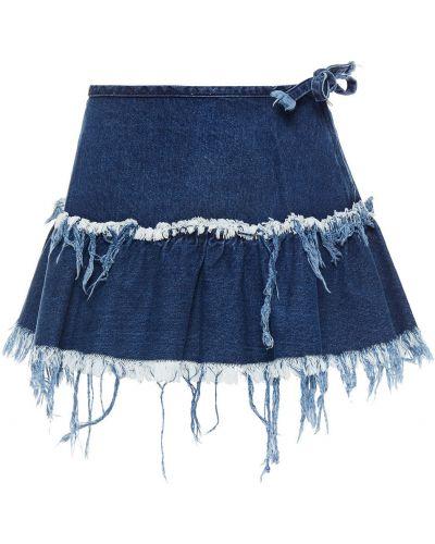 Spódnica jeansowa - niebieska Marques Almeida