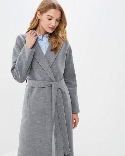 Пальто демисезонное серое Adl