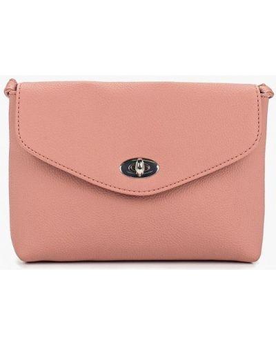 Кожаный сумка через плечо розовый Dorothy Perkins
