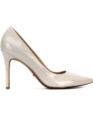 Туфли-лодочки на шпильке серые Michael Michael Kors