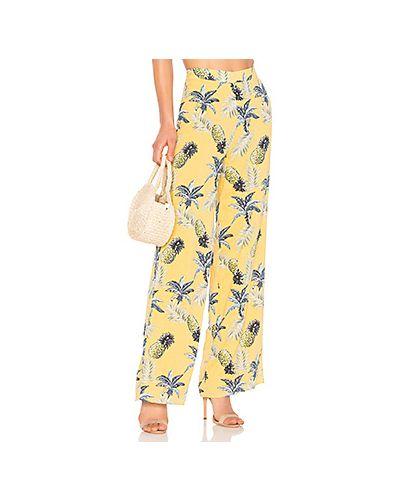 Желтые брюки Majorelle