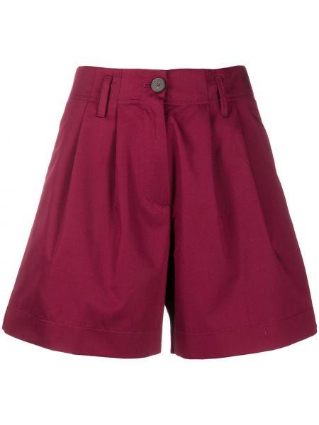 Однобортные шорты с карманами на пуговицах Forte Forte