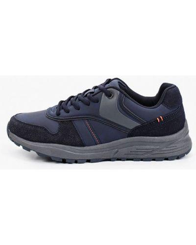 Синие кожаные кроссовки T.taccardi